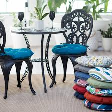 Garden Bistro Chair Cushions Chair And Table Design Round Outdoor Bistro Chair Cushions Comfy