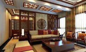 chinese retro wooden partition for living room and dining room