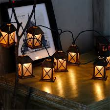 battery powered house lights 3m led romantic wire light string lights vintage metal house
