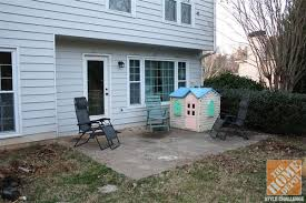 Concrete Backyard Ideas Small Patio Decorating Ideas By Kelly Of View Along The Way