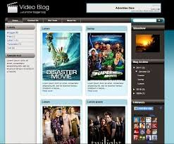 top 10 free video blog templates for blogger