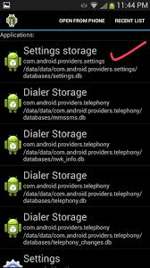 android dialer storage rimweb