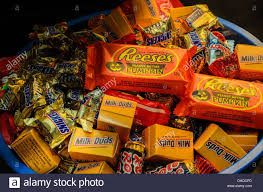 bowl of halloween candy stock photo royalty free image 62375669