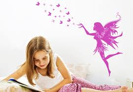 Wall Decals For Girls Bedroom Magic Fairy Wall Decal Magic Decor For The Girls Room