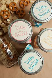 wedding favor jars free printable wedding favor tags