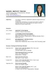 Sample Resume With Picture by Resume Format Samples