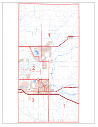 County Map Illinois by Boone County Board District Map Boone County Illinois