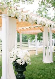 wedding ceremony decorations white wedding colors archives weddings romantique