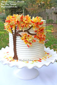 southern blue celebrations thanksgiving fall autumn cake ideas