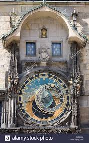 prague astronomical clock unique clock on gothic tower