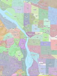 Map Portland by Property Tax Millage Rate For Portland Neighborhoods