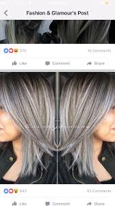 highlights for gray hair photos gray hair highlights particularly thick hair essentials barelypro com
