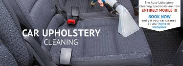 mobile car upholstery cleaning