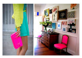 neon new fashion and home decor trend decouvrirdesign