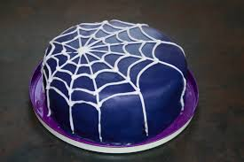halloween spider web cake the cake trail halloween lemon layer cake