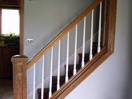 Banister Replacement Model Staircase Model Staircase Replace Spindles On Replacing And