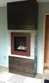 valor 530irn ledge stone fire radiant gas fireplace and insert installed with patina
