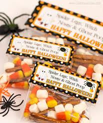 Halloween Goodie Bags Halloween Treat Bag Tags Free Printable Celebration Lane