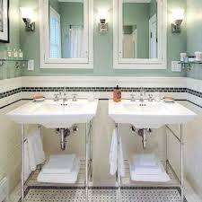 Modern Retro Bathroom Vintage Style Bathroom Sinks Floor Plan Strategies Modern Bath