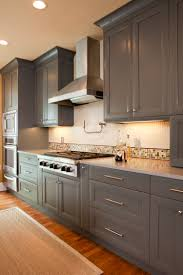 Island Kitchen Hoods by Palo Alto Door Style Finished In A Custom Paint Sherwin Williams