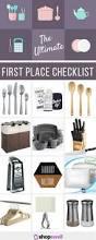 best first apartment checklist contemporary decorating interior