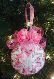 Quilted Christmas Ornament Patterns Quilted Christmas Ornament Tutorial Pattern Pdf Holidays
