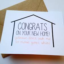 congrats on new card items similar to moving congratulations card new home card