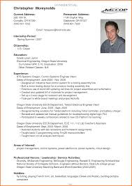 Sample Resume For Electrician Job Resume Examples For Electronics Engineering Students