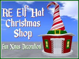 second life marketplace re elf hat christmas shop fun xmas