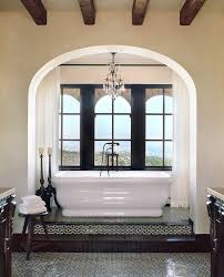 Chandelier Floor Stand by Los Angeles Stand Alone Bathtubs Bathroom Mediterranean With