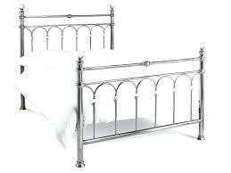 Metal Bed Frames Single Chrome Bed Frames Designs Bed Frame Shiny Chrome Chrome Metal Bed