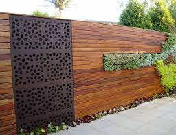 wood fence designs for perfect house homes ideas modern design of