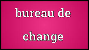 meaning of bureau de change bureau de change meaning