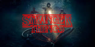 your upside down stranger things title card
