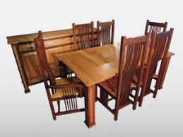 Solid Wood Dining Room Sets Amish Furniture Gallery Amish Furniture Gallery Custom Built