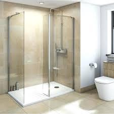 Bathroom Shower With Seat Bathroom Shower Door Wonderful Glass Walk In Shower Doors Walk In