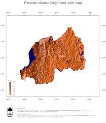 Rwanda World Map map rwanda ginkgomaps continent africa region rwanda