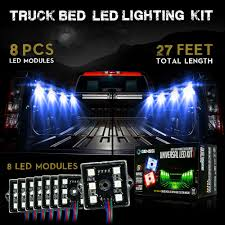 Truck Bed Lighting 48 Led Color Rgb With Remote Control Truck Bed Lights Genssi Led