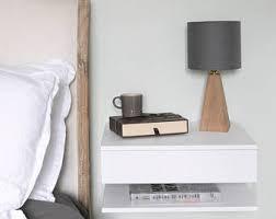 Floating Nightstand Shelf Floating Nightstand Etsy