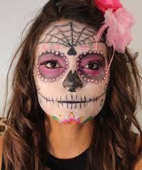 Sugar Skull Halloween Makeup Halloween Makeup Sugar Skull Tatiane Vita Youtube