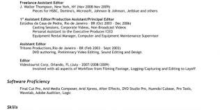 Video Editor Resume Sample by Total Resume My Account Editing Resume Template Resume Template
