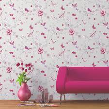 papier peint intisse chambre papier peint et gris inspirations et papier peint chambre fille