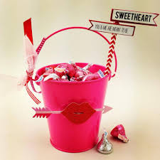 diy valentine u0027s day bucket gift idea crafty morning