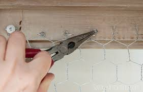 chicken wire cabinet door inserts past meets present trend replace glass with chicken wire the safe