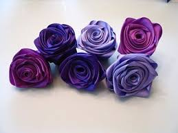 ribbon flowers best 25 ribbon flower tutorial ideas on ribbon flower