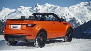 orange range rover sport 2017 range rover evoque convertible hse color phoenix orange in