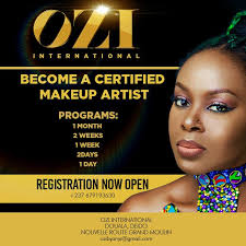 makeup classes for anyi asonganyi ceo of ozi international launches makeup classes