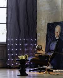 sheer curtains with lights with led lights take window coverings to new level