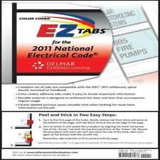 color coded 2008 ez tabs for nec code book nfpa national electric