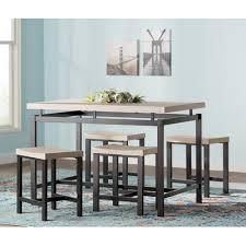 varick gallery bryson 5 piece dining set u0026 reviews wayfair